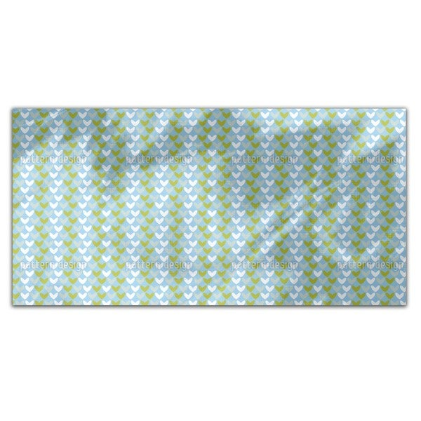 Hearts In Spring Rectangle Tablecloth