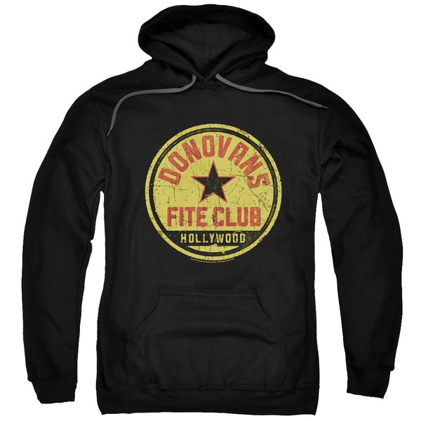 Ray Donovan/Fite Club Adult Pull-Over Hoodie in Black