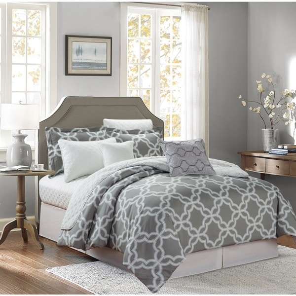 Glove Grey 8-piece Comforter Set