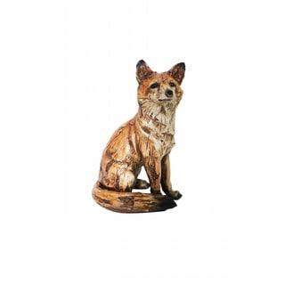 10-inch Sitting Fox Statue