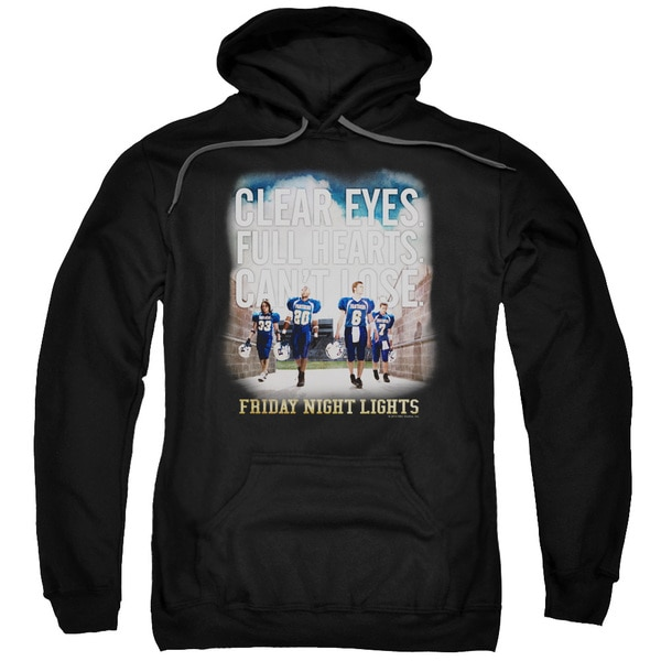 Friday Night Lights/Motivated Adult Pull-Over Hoodie in Black