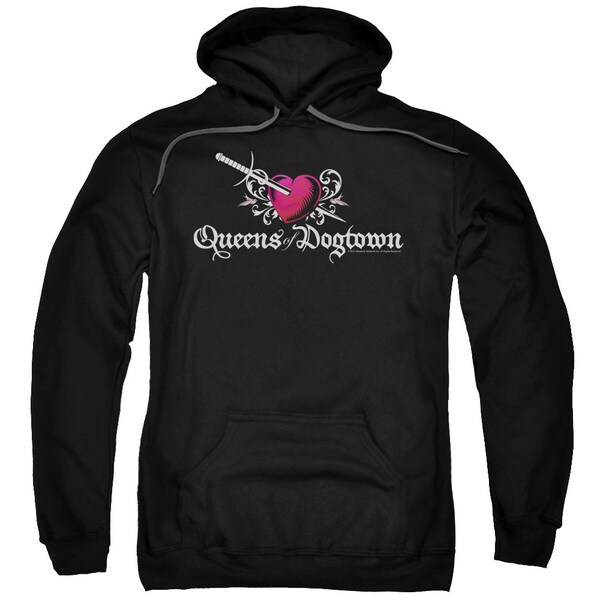 Californication/Queens Of Dogtown Adult Pull-Over Hoodie in Black