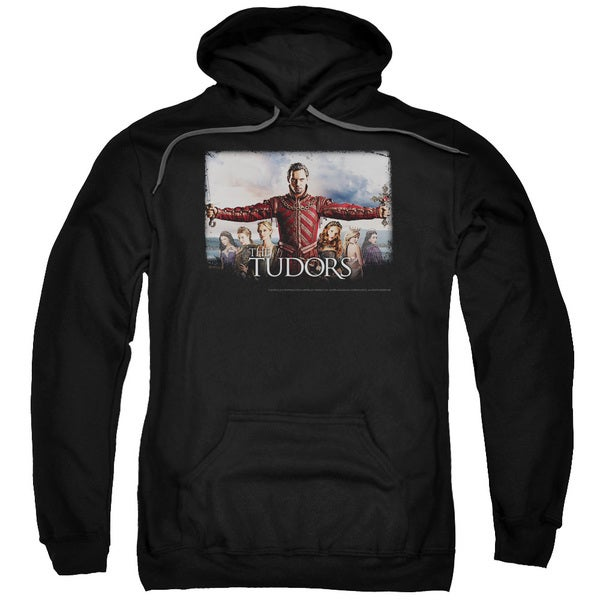 Tudors/The Final Seduction Adult Pull-Over Hoodie in Black