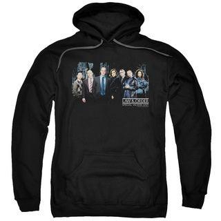 Law Order:SVU/Cast Adult Pull-Over Hoodie in Black