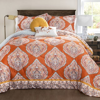 Lush Decor Harley Quilted 5-piece Comforter Set