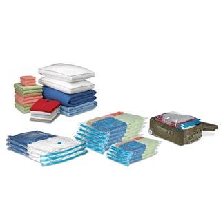 Sunbeam Clear Plastic Vacuum Storage Bags (Pack of 12)