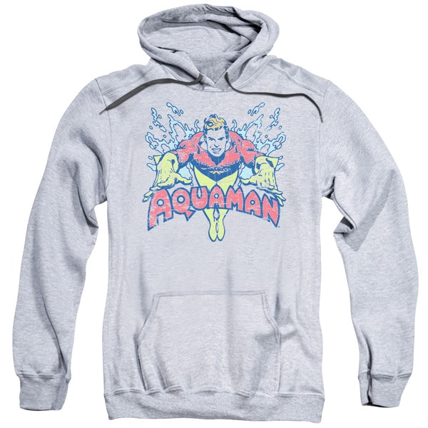 DC/Splish Splash Adult Pull-Over Hoodie in Athletic Heather