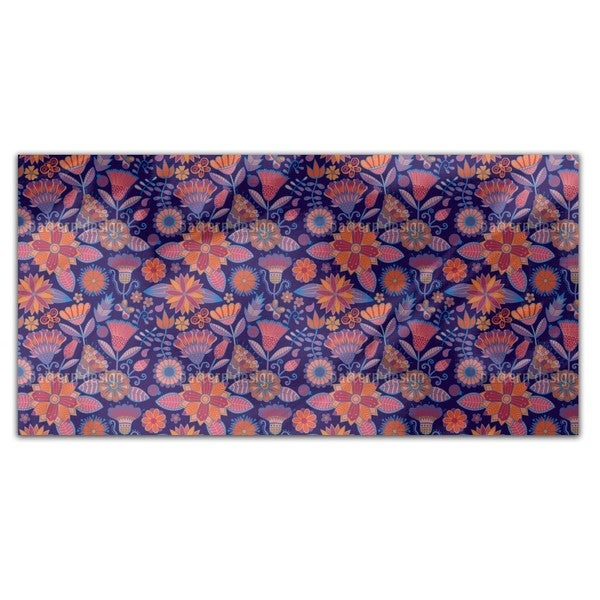 Garden Folklore At Night Rectangle Tablecloth