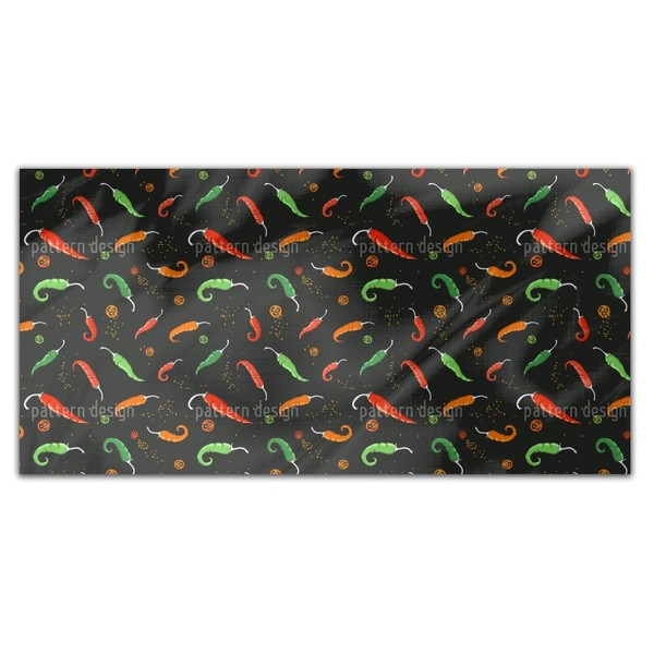 Chili Peppers Rectangle Tablecloth