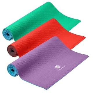 Life Energy 6-millimeter Reversible Yoga Mat