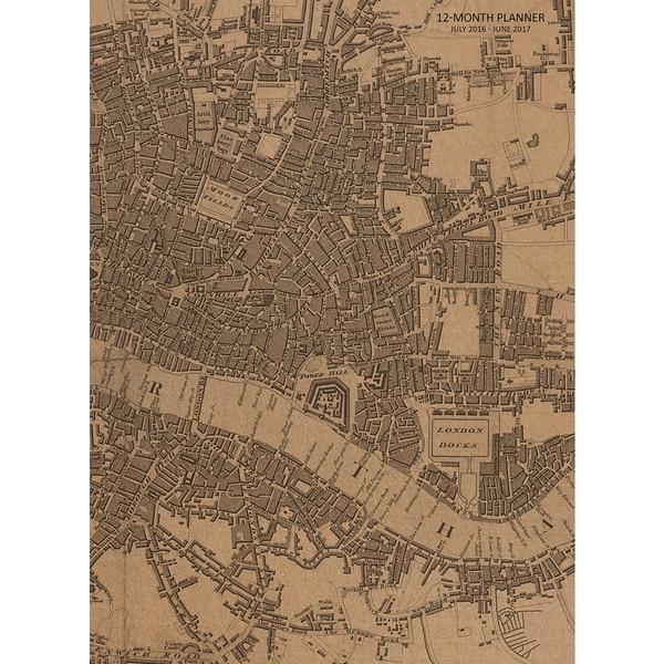2016-2017 Academic Year Vintage London Planner