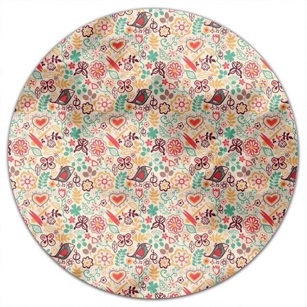 Piepsis Little Paradise Round Tablecloth