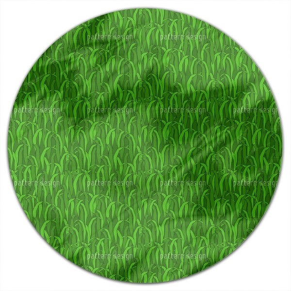 In The Green Grass Round Tablecloth