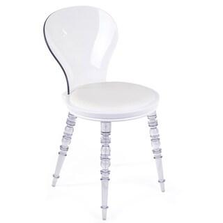 Hans Andersen Home Johan Black/White Polyurethane Side Chair