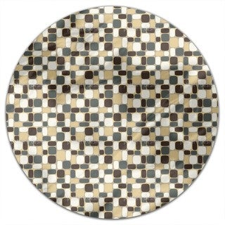 Stone By Stone Round Tablecloth