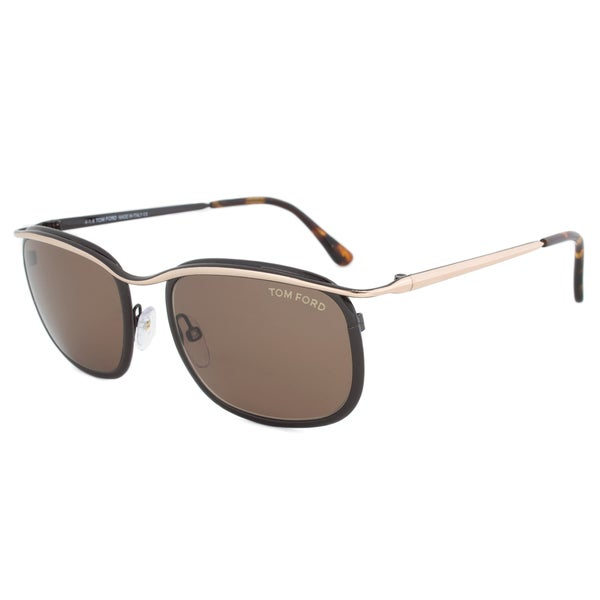 Tom Ford FT0419 50J Marcello - Dark Grey/Crystal