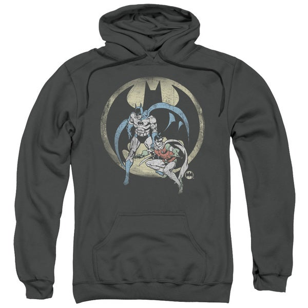 DC/Team Adult Pull-Over Hoodie in Charcoal