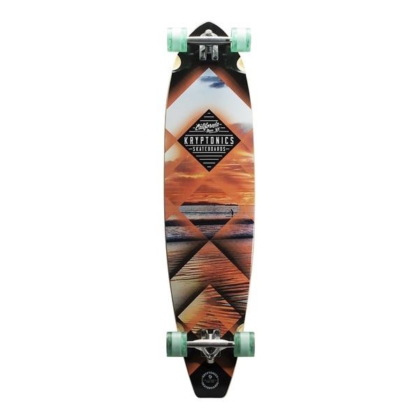 Kryptonics Blue 8-ply Maple 44-inch x 10.5-inch Blocktail Longboard