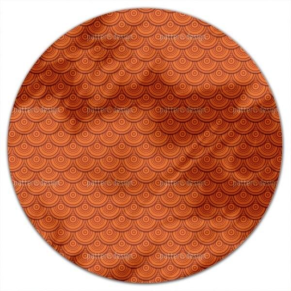 Viking Shields Round Tablecloth