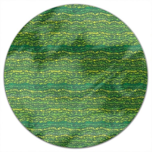 Vortex Dispute In The Pond Round Tablecloth