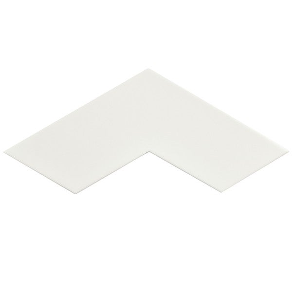 SomerTile 3.375x11.75-inch Ricochet White Satin Ceramic Floor and Wall Tile (Case of 12)