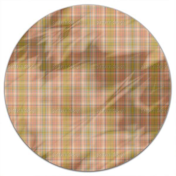 Sunnys Kilt Round Tablecloth
