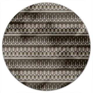 Maya Ikat Round Tablecloth