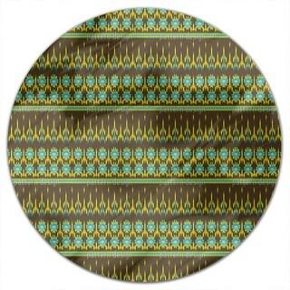 Actek Ikat Round Tablecloth