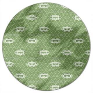 Dragonflies Verde Round Tablecloth