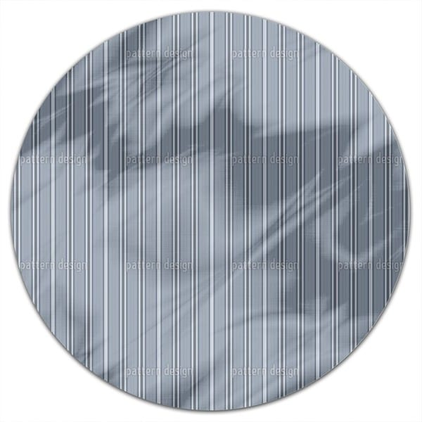 Gentlemen In Stripes Round Tablecloth