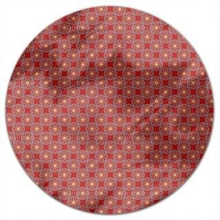 Geometric Orient Round Tablecloth
