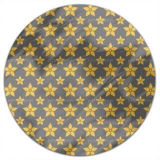 Starflowers Round Tablecloth