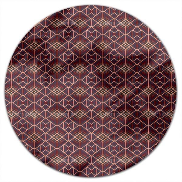 Choc Alarm Round Tablecloth