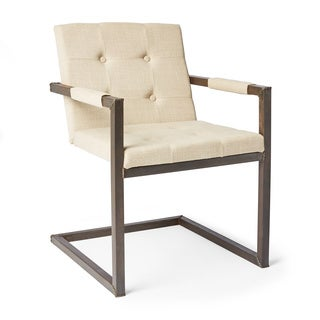 Iron and Linen Folding Chair (India)