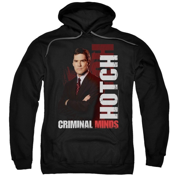 Criminal Minds/Hotch Adult Pull-Over Hoodie in Black