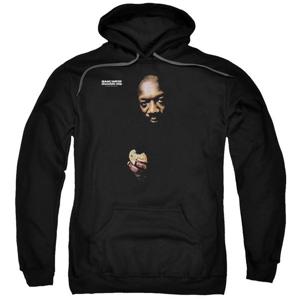 Isaac Hayes/Chocolate Chip Adult Pull-Over Hoodie in Black
