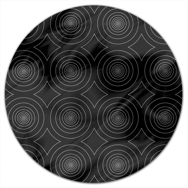 Tunnel Vision Round Tablecloth