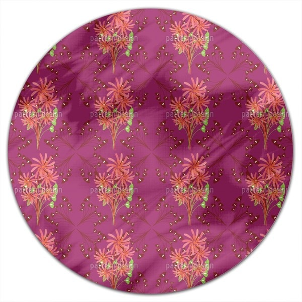 Fantasia Floral Round Tablecloth