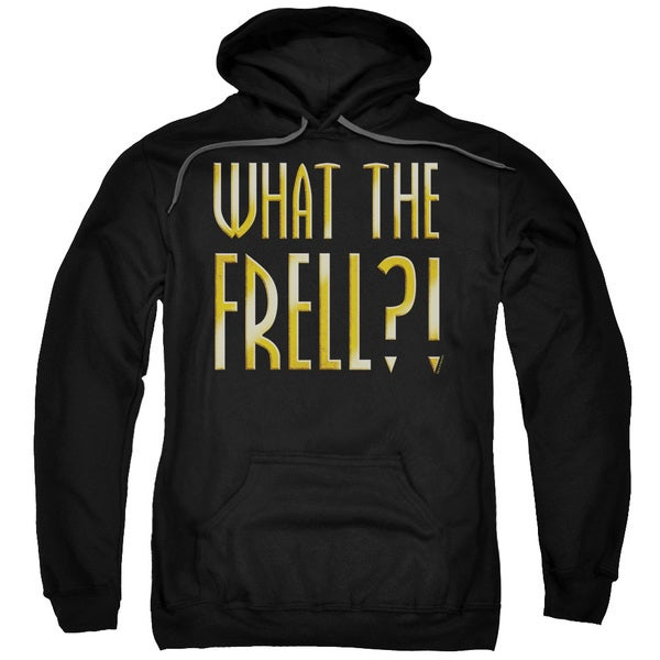 Farscape/What The Frell Adult Pull-Over Hoodie in Black