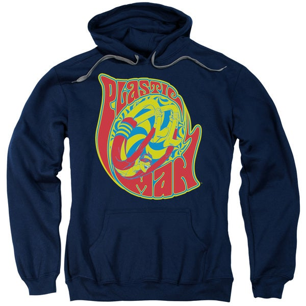 DC/How I Roll Adult Pull-Over Hoodie in Navy