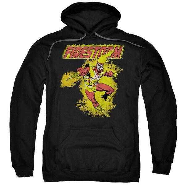 DC/Firestorm Adult Pull-Over Hoodie in Black