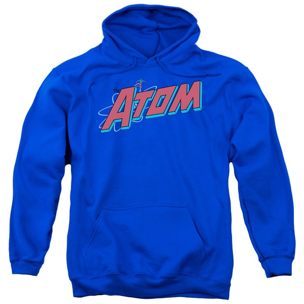 DC/The Atom Adult Pull-Over Hoodie in Royal Blue