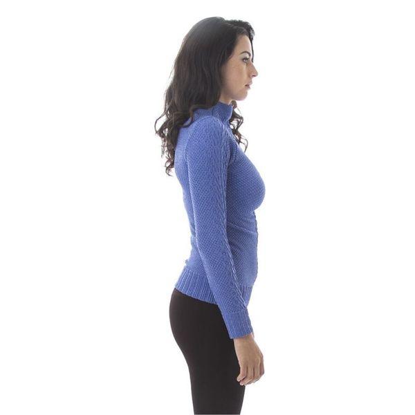 Soho Women Winter Heather Mock Neck Long Sleeves Sweater Top 18732967