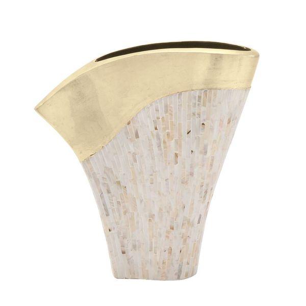 Novel Lacquer Vase - Gold
