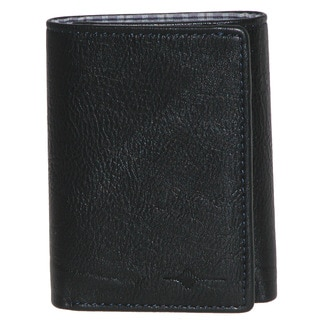 Buxton Tulsa RFID Three-fold Leather Wallet