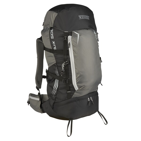 Wenzel Flux Black Polyester 50-literTrail Pack