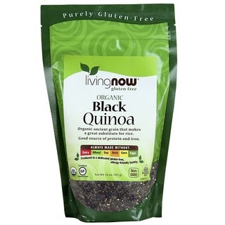 NOW Foods 14-ounce Black Quinoa