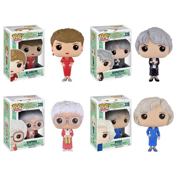 Funko Golden Girls POP! TV Collectors Set with Sophia/ Rose/ Blanche/ Dorothy 18737253