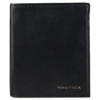 Nautica Men's Genuine Leather Credit Card Organizer Wallet