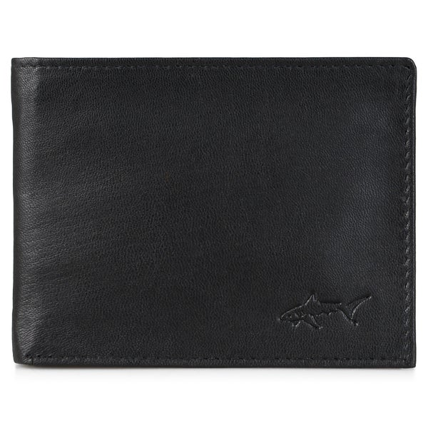 Greg Norman Men's Genuine Leather Passcase Bifold Wallet